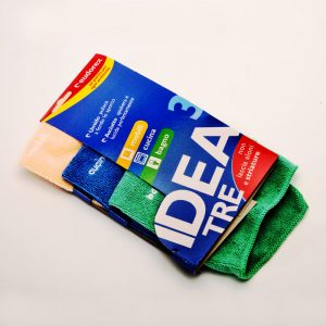 Idea 3 Kit tre panni in microfibra